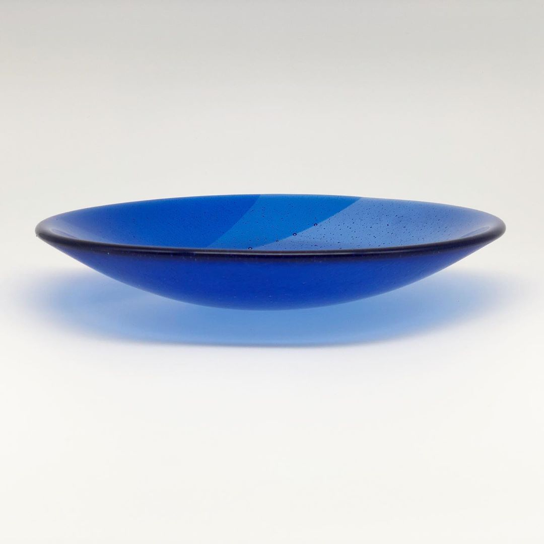 Glass work by Maria Prus